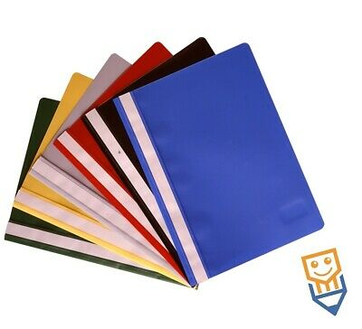 £2.55 • Buy A4 PROJECT Presentation FOLDERS Quality DOCUMENT REPORT FILES Holds 100 Sheets