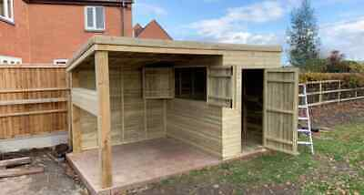 Garden Bar/ Outdoor Bar/ Bar With Shelter - Please See Full Ad! • 2,310£