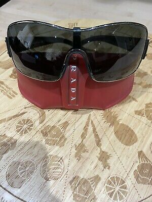Prada Sunglasses Unisex - 100% Authentic - Original Case - Beachwear- Running • 10.50£