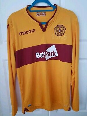 3 Motherwell FC Home Shirts  • 60£