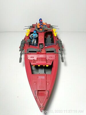 $ CDN280.23 • Buy Vintage GI Joe ARAH 1985 COBRA Moray Hydrofoil 100% Complete W/Lampreys