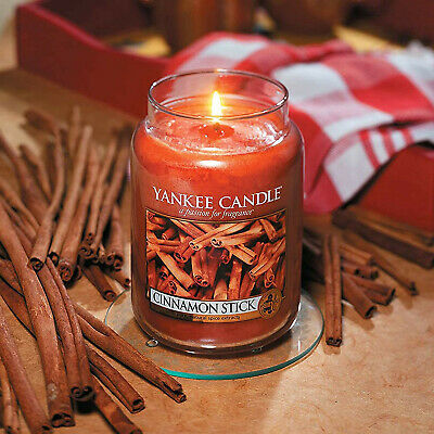 Yankee Candle 1055974E Cinnamon Stick Jar Candle - Red • 23.99£