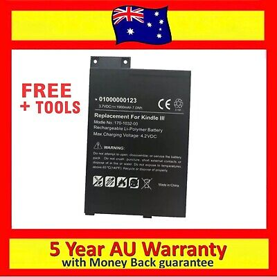 AU26.95 • Buy S11GTSF01A GP-S10-346392-0100 Battery For Amazon Kindle 3 III D00901 EReader AU