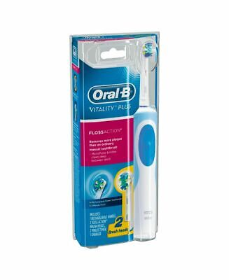 AU31.99 • Buy New Oral-B Vitality Floss Action Electric Toothbrush + 2 Head