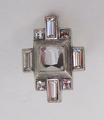 $ CDN0.13 • Buy Lia Sophia Jewelry Undercover Cut Crystals Ring Size 6 RV$88