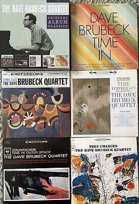Dave Brubeck Quartet - Original Album Classics (2010) FIVE CD Box Set • 6.60£