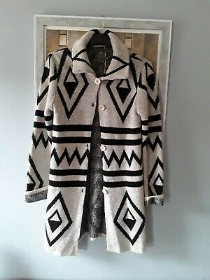 Ladies Long Warm Cardigan.  Brand New With Tags. Size 10-12 • 7£