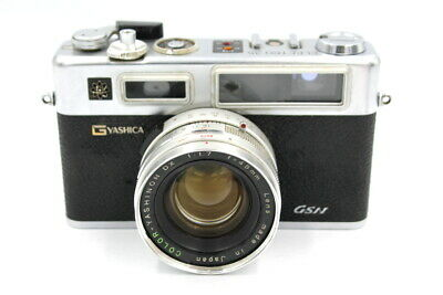 YASHICA Electro 35 GSN RF From Serviced Seals CLA Sr:408265 From UK • 70£