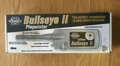 White's Bullseye II Pinpointer Excellent Condition Hardly Used Boxed • 29£