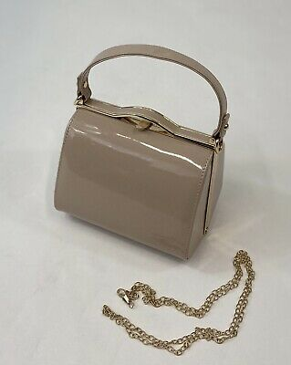 1940s Vintage Inspired Handbag In Nude To Finish Off Your Vintage Outfit BNWT • 10£