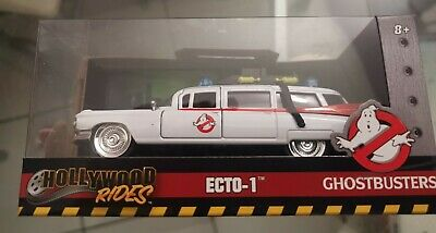 Metals Die Cast Ecto-1 1:24 Ghostbusters Car Brand New   • 35£