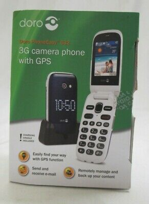 Doro PhoneEasy 632 3G Camera Flip Phone With GPS Elderly Big Buttons • 20£