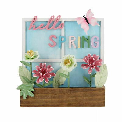 £13.04 • Buy Celebrate Easter Together Hello Spring Window Box Table Decor