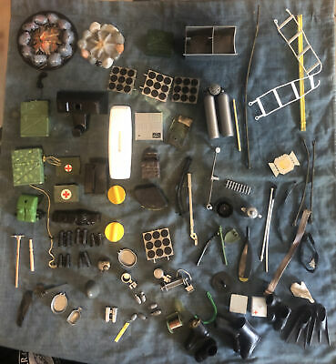 $ CDN65.32 • Buy Vintage GI Joe 60s 70's Huge Accessories Lot Weapons Tools & Clothes Outfits #4