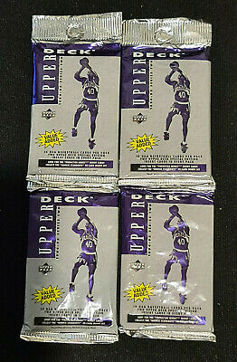 AU19.99 • Buy 1994-95 Upper Deck NBA Series 2 Four-Pack Retail Lot - New & Sealed From Box