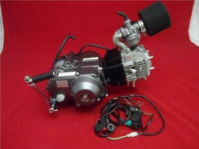 Lifan 125cc Big Valve Semi Auto Pit Bike Engine Full Package BBR Old Style • 275£