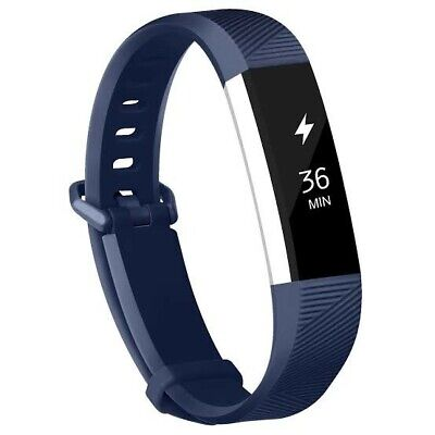 AU5 • Buy Fitbit Alta HR Band Replacement Strap Wristband Bracelet Fitness Navy Small