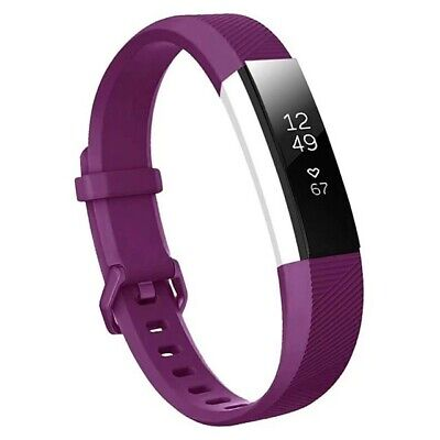 AU5 • Buy Fitbit Alta HR Band Replacement Strap Wristband Bracelet Fitness Purple Small