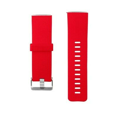 AU5 • Buy Replacement Silicone Gel Band Strap Bracelet Wristband FITBIT BLAZE LARGE Red