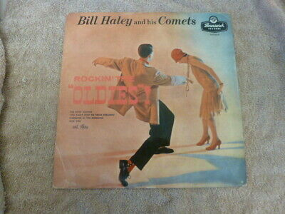Bill Haley And His Comets Rockin' With The Oldies! Lp 1957 Brunswick Lat.8219   • 4.99£