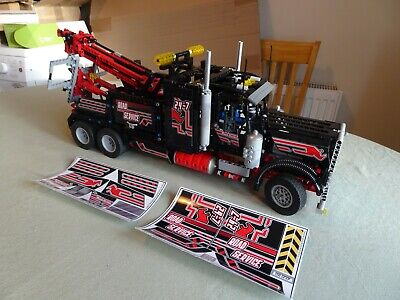 LEGO Model 8285 Tow Truck, Stickers Applied, No Box Or Instructions • 120£