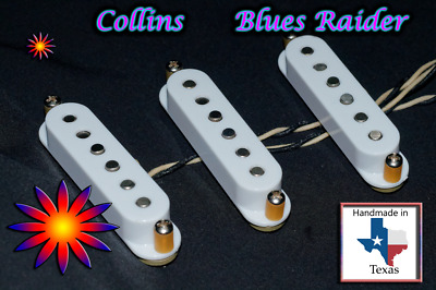 $ CDN48.01 • Buy Hand-Wound Single Coil Strat Pickups,Vintage Stagger T-169 Fits Stratocaster