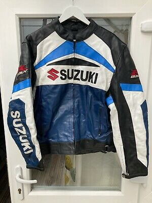 Suzuki Motorbike Leather Two Piece Jacket And Trousers • 0.99£