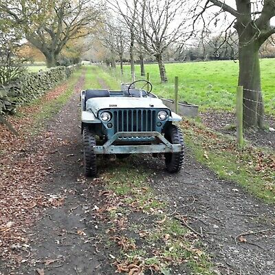 1942 Ford GPW Jeep Willys Jeep Military Vehicle Classic Car Barn Find  • 13,995£