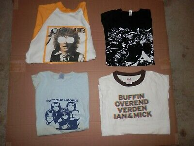 $ CDN104.26 • Buy Rare ? Vintage? Mott The Hoople Ian Dury T Shirt Lot Of 4- Med