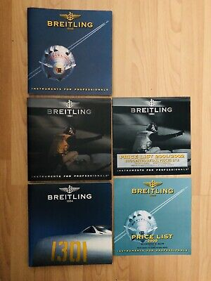 £60 • Buy Breitling Watch Chronolog Catalogues