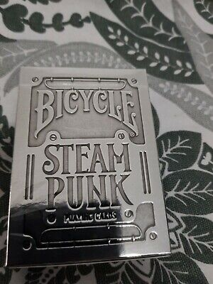 Bicycle Silver Steampunk Playing Cards Deck By Theory 11 • 5£