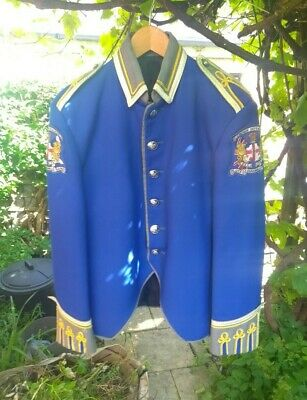 Irish Cloughmill Flute Marching Band Jacket | Col: Blue Size: M | Indie Vintage  • 76.01£
