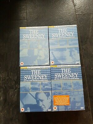 The Sweeney -  Collection - Series 1 - 2- 3 -4 - Complete DVD Boxsets • 23.90£