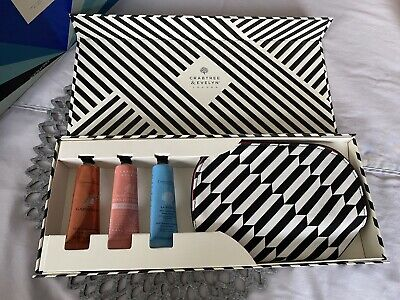 Crabtree & Evelyn Hand Therapy Cream Gift Set La Source Gardeners 3x 25g Box NEW • 12.95£
