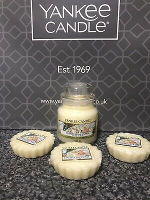 Yankee Candle 🎄Christmas Cookie🎄Small Jar 104g & 3 Wax Melts Bundle • 10£