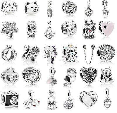 New Authentic Genuine PANDORA Charms ALE S 925 Sterling Silver - Fast Postage • 17.49£