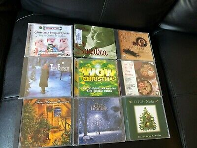 $ CDN3.91 • Buy Lot Of 9 CHRISTMAS Music CDs Assorted Frank Sinatra Tony Bennet Some Sealed/New