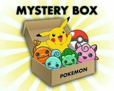 AU64.99 • Buy POKEMON CARDS MYSTERY BOX!!! Hidden Fates, Evolutions, GX V Ultra Rare Vmax Pack