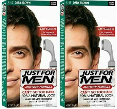 £16.95 • Buy Just For Men AutoStop  - Hair Colour - A45 Dark Brown