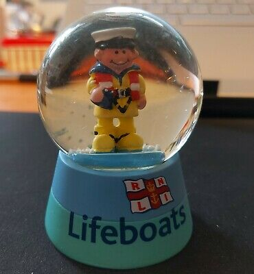 Cheery RNLI Volunteer Snow Globe - 60mm - Glass  • 1.50£
