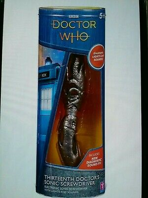 Doctor Who 13th  Sonic Screwdriver Jodie Whittaker With Free Note Book • 12.99£