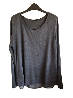 Ladies Gibson Top, Long Sleeve, Size 16 • 1.30£