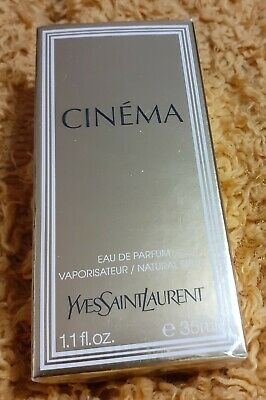YSL CINEMA Eau De Parfum 35ml Brand New In Cellophane • 20£