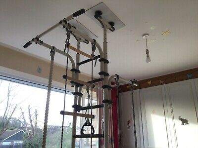 £280 • Buy Olympian Kids Indoor Jungle Gym-swing/rope/gym Rings/bars/ladder REDUCED FURTHER