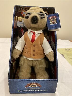 Compare The Meerkat Yakov Toy With Certificate • 1.10£