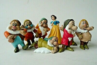 Vintage Disney Snow White And The Seven Dwarves Figures Simba Miniatures • 9.99£