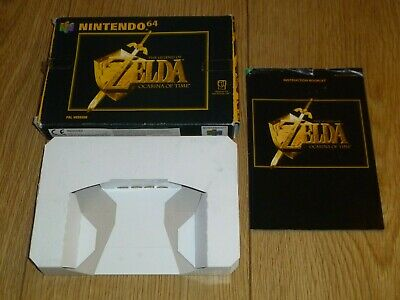 Nintendo 64 N64 - The Legend Of Zelda Ocarina Of Time Box And Instructions Only • 22.40£