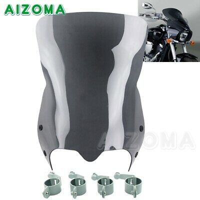 $159.99 • Buy Motorcycle Front Windshield Screen Deflector For Suzuki Boulevard M50 M90 M109R