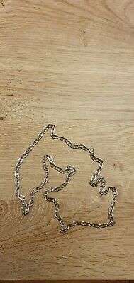 Long Mens Necklace Chain 925 Silver  • 10£