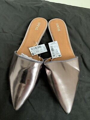 Ladies Bronze Backless Shoes BNWT Size 7 • 5£